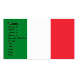 Colors of Italy Business Cards