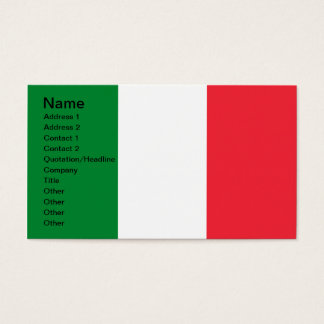 Colors of Italy Business Card