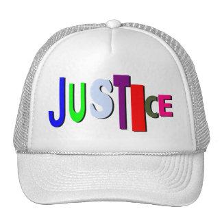Colors of Justice Cap Trucker Hat