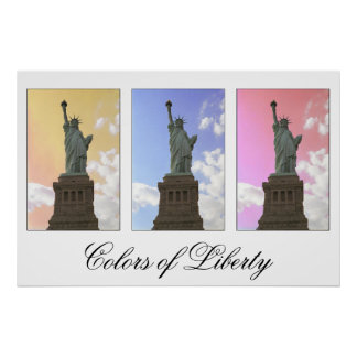 Colors of Liberty / Statue of Liberty print