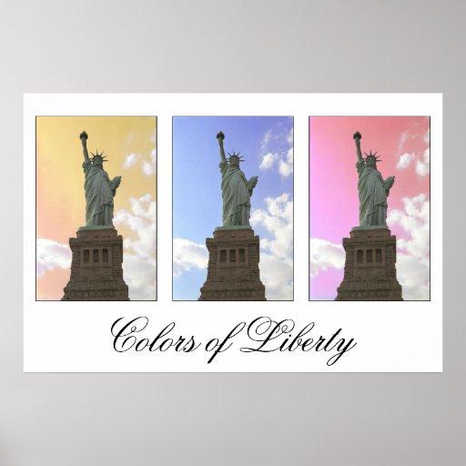 Colors of Liberty / Statue of Liberty print