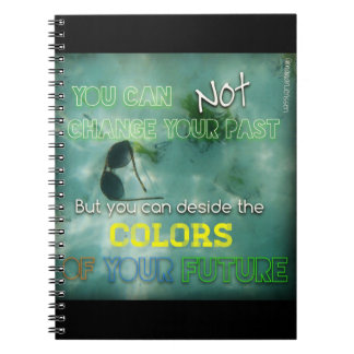 Colors of life spiral note books