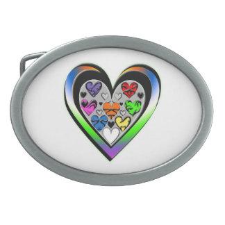 Colors of Love Belt Buckle