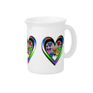 Colors of Love Beverage Pitcher
