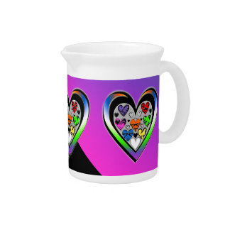 Colors of Love Drink Pitcher