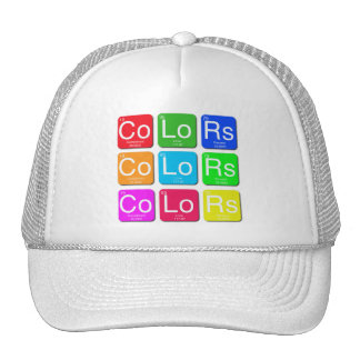 Colors Of Love Hat