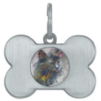 Colors of love pet ID tags