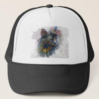 Colors of love trucker hat