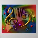 colors of music 20x24 print