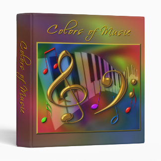 Colors of Music (2) Binder