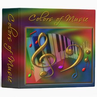 Colors of Music binder