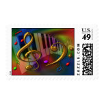 colors of music postage