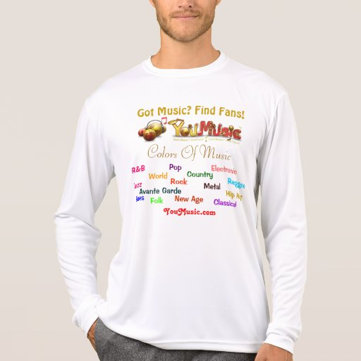 Colors Of Music Tees