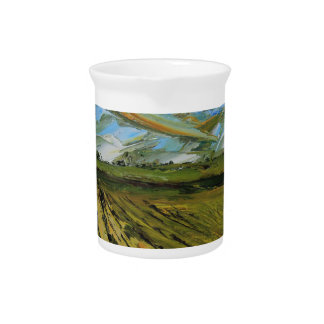 Colors of Napa Valley, Wine Country California Drink Pitcher