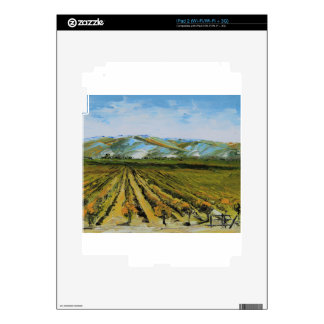 Colors of Napa Valley, Wine Country California iPad 2 Skins