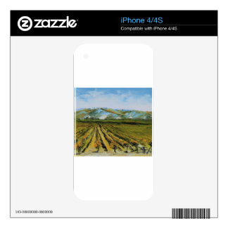 Colors of Napa Valley, Wine Country California iPhone 4 Skins