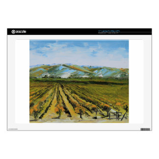 Colors of Napa Valley, Wine Country California Laptop Skin