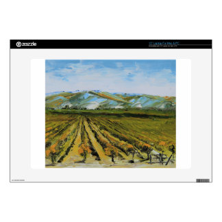 """Colors of Napa Valley, Wine Country California Skin For 15"""" Laptop"""
