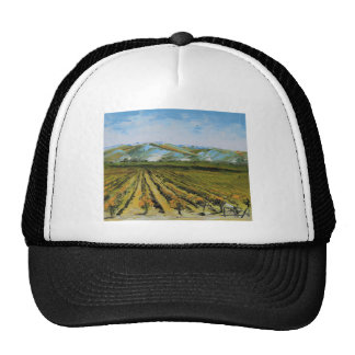 Colors of Napa Valley, Wine Country California Trucker Hat