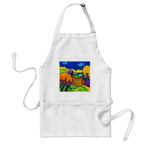Colors of Nature Adult Apron