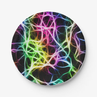 Colors of Neuron Paper Plate