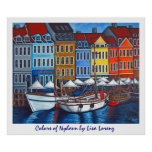 Colors of Nyhavn Poster Print