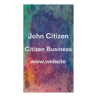 Colors of opal texture business card