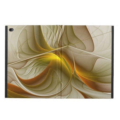 Colors of Precious Metals, Abstract Fractal Art Powis iPad Air 2 Case