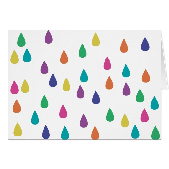 Colors of Rain Card