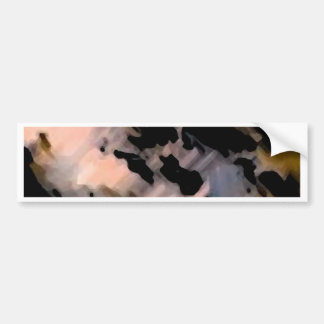 Colors of Rock Abstract - CricketDiane Bumper Stickers