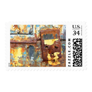 Colors of Rust / Rost-Art Postage Stamp