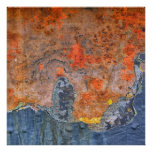 Colors of Rust / Rost-Art Poster