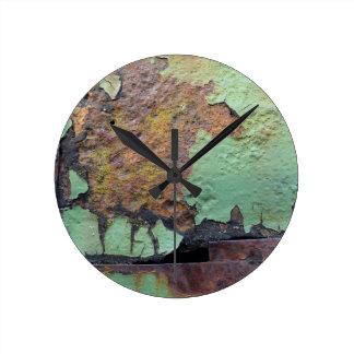 Colors of Rust / Rost-Art Round Clock