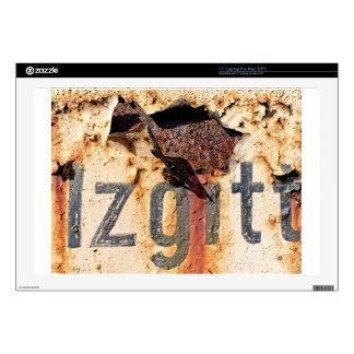 "Colors of Rust / ROSTart 17"" Laptop Skins"