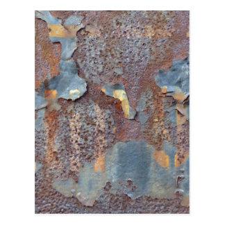 Colors of Rust, Typo Rust-Art Postcard