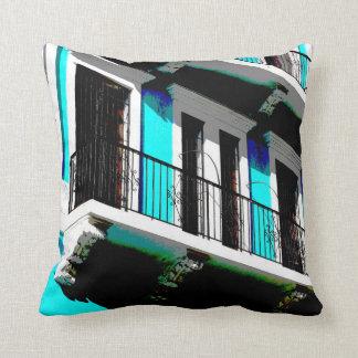 Colors of San Juan Throw Pillow