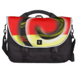 Colors of South Africa Swirl Pattern Laptop Commuter Bag