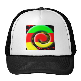 Colors of South Africa Swirl Pattern Trucker Hat