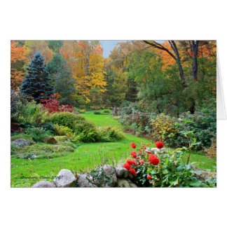 Colors of Spirit: New Hampshire Garden Card