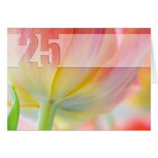 Colors of Spring - 25th Birthday Card