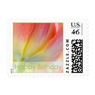 Colors of Spring Birthday Stamp