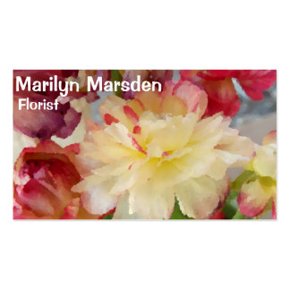 Colors of Spring Double-Sided Standard Business Cards (Pack Of 100)