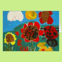 Colors of Spring-Esha Card