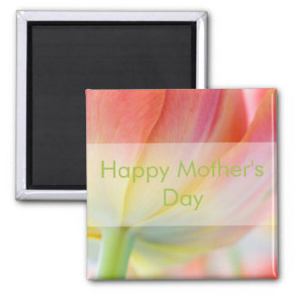 Colors of Spring Tulip • Happy Mother's Day Magnet