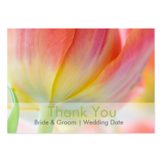 Colors of Spring • Wedding Favor Tag Business Card Template