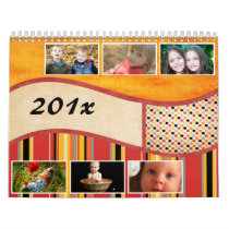 Colors of Summer Personalized Photo Calendar