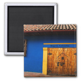 Colors of the Candlemas, Bogota, Colombia Magnet