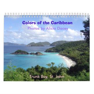 Colors of the Caribbean - Customiz... - Customized Calendar