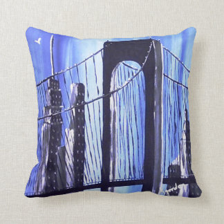 Colors of The City Pillow