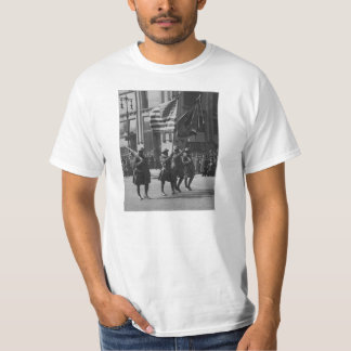 Colors of The Famous 369th Infantry in Parade T-Shirt